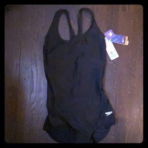 Women's Speedo one piece size 8-black